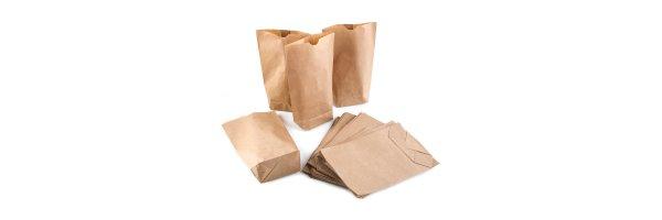 Papiertüten mit Boden
