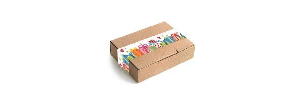 Geschenkboxen mit Banderole