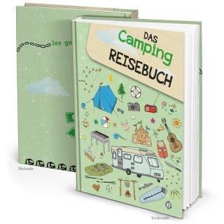 XXL Campingbuch DIN A4 - Reisebuch für Camper - Camping Tagebuch