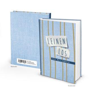 Seemeilenbuch LEINEN LOS DIN A5 - Buch zum Eintragen von Seemeilen