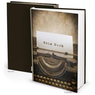 Buch blanko zum Selberschreiben MEIN BUCH - Notizbuch DIN A4 - eigene Geschichte Tagebuch