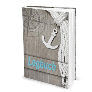 Logbuch Ocean DIN A4 Hardcover - Schiffstagebuch nach amtlichen Vorschriften