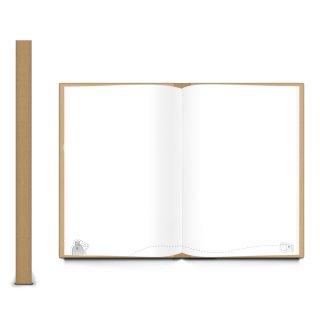 Kleines Camping Tagebuch DIN A5 - Campingbuch zum Selberschreiben - Reisebuch