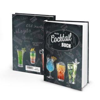 Cocktailbuch zum Selberschreiben - Eintragbuch für Cocktailrezepte DIN A5 - Bar Restaurant