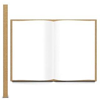 Gästebuch DIN A4 Hardcover braun mit Weltkugel Globus Motiv braun bunt mit leeren weißen Seiten