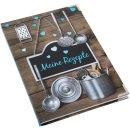 Kleines Kochbuch zum Selberschreiben Meine Rezepte braun...