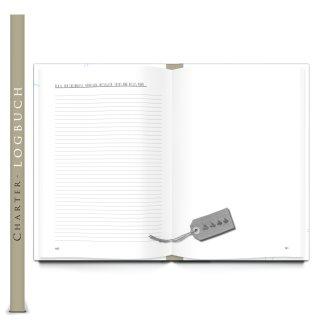 Charter-Logbuch 8 Wochen DIN A4 - Tagebuch Logbuch für Segler - Schiffstagebuch zum Segeln