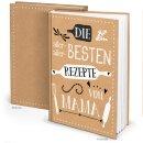 Rezeptbuch REZEPTE VON MAMA - DIN A4 leeres Buch zum...