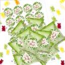 24 Gummibärchen Tüten + Aufkleber VIEL...