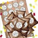 24 kleine Mini Gummibärchen mit...