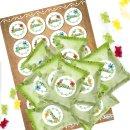 24 kleine Mini Geschenke zum Essen GUMMIBÄRCHEN mit...