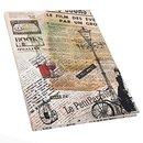 Vintage Notizbuch mit leeren Seiten DIN A4 nostalgisch...