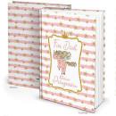 Babytagebuch Mädchen rosa weiß mit Einhorn DIN...