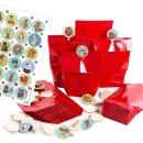 24 Adventskalendertüten für Kinder mit...