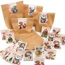 24 Adventskalender Tüten zum Befüllen...