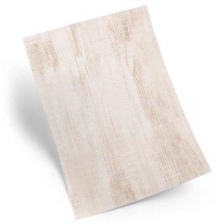 Briefpapier in Holzoptik hellbraun - Motivpapier Bastelpapier Holz Struktur DIN A4 zum Beschriften & Bedrucken