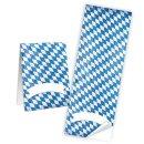 Bayerische Aufkleber Raute weiß blau 5 x 14,8 cm...