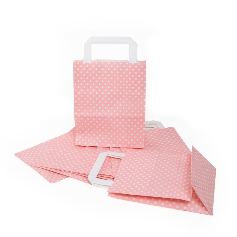 Papiertüten Tütchen Tüten mit Griff aus Papier für Geschenke verpackung