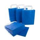 Tasche mit Boden & Henkel dunkelblau 18 x 22 x 8 cm...