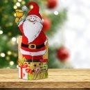 Nikolausschachtel zum Befüllen - Pappschachtel Nikolaus als Nikolausstrumpf oder Nikolausstiefel