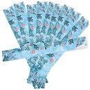 40 große XXL Weihnachtsetiketten 5 x 42 cm zum Beschriften - Aufkleber Set Weihnachten für Maxibriefkartons