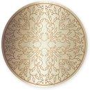 Wandbild in silber und gold mit Motiv Lebensbaum zum...