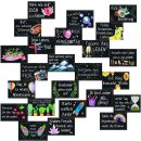 Geschenkset - XXL Notizbuch LIEBE + 24 Motivationskarten...