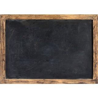 Tischsets aus Papier im Tafelkreide-Look - schwarz braun DIN A3