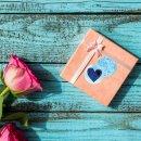 Herzaufkleber blau türkis rund 4 cm - Herzsticker...