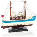 Deko Schiffe Set - 2 Boote Fischerboote aus Metall 20,5 +...